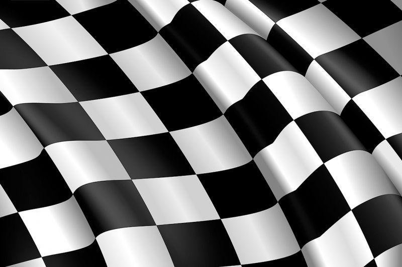 carta da parati bandiera a scacchi personalizzazione