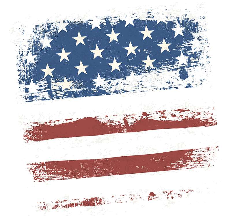 Carta da parati American wall