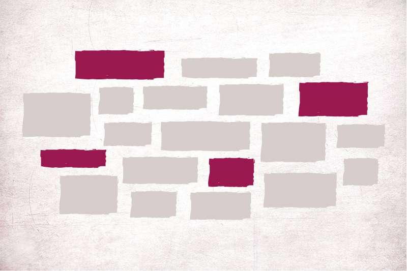 Carta da parati Brick
