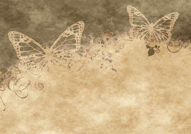 Carta da parati Farfalle