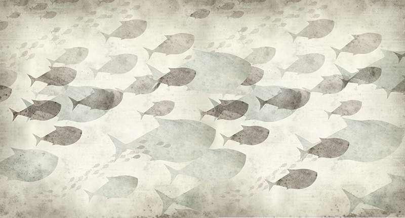 Carta da parati Fish