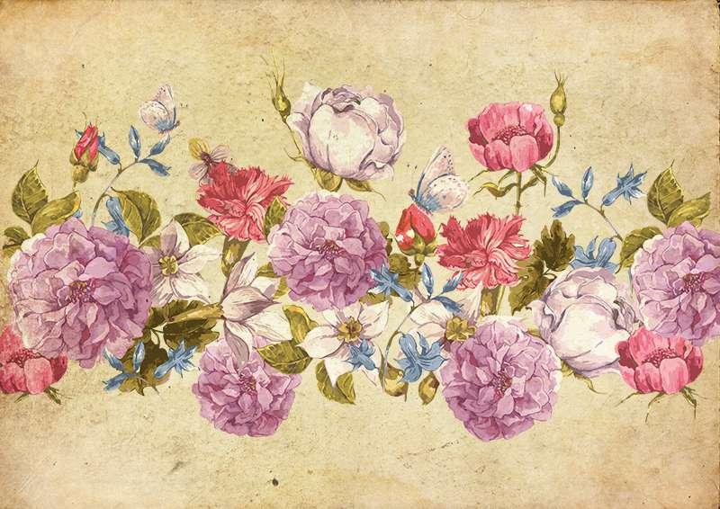 Carta da parati Garden