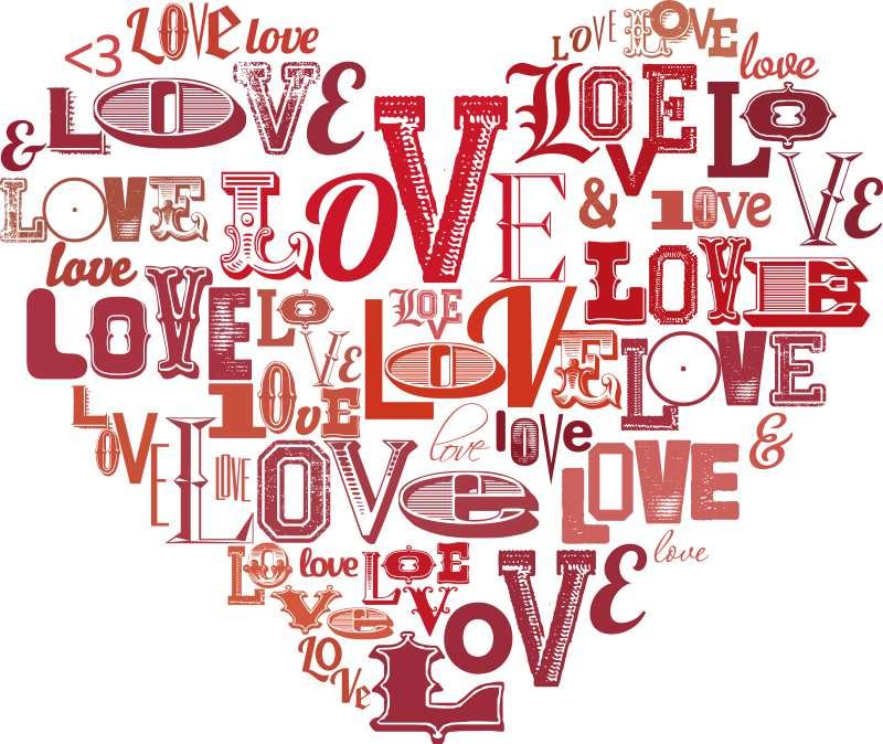 Carta da parati Love