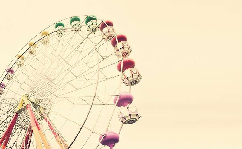 Carta da parati Luna Park