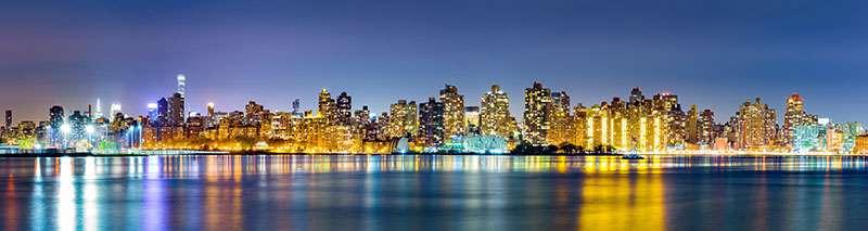 Carta da parati Skyline di Manhattan