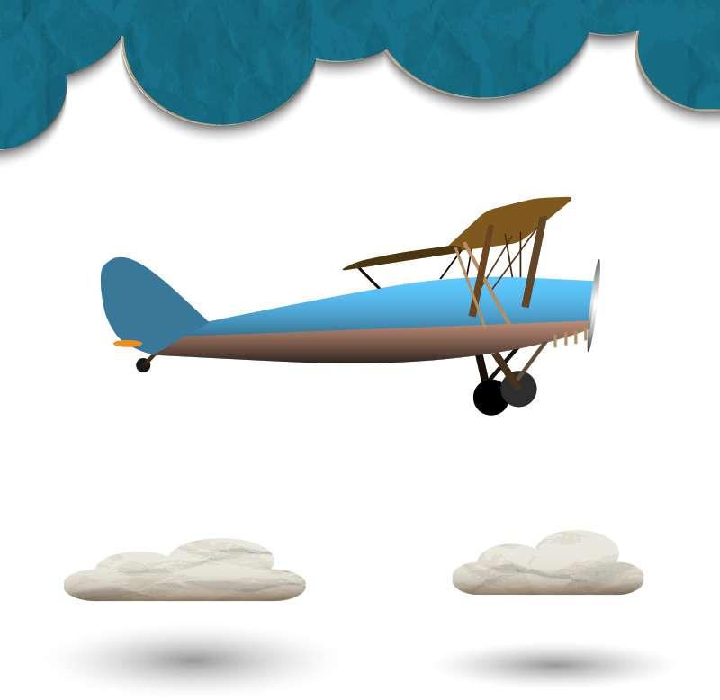 Carta da parati Plane