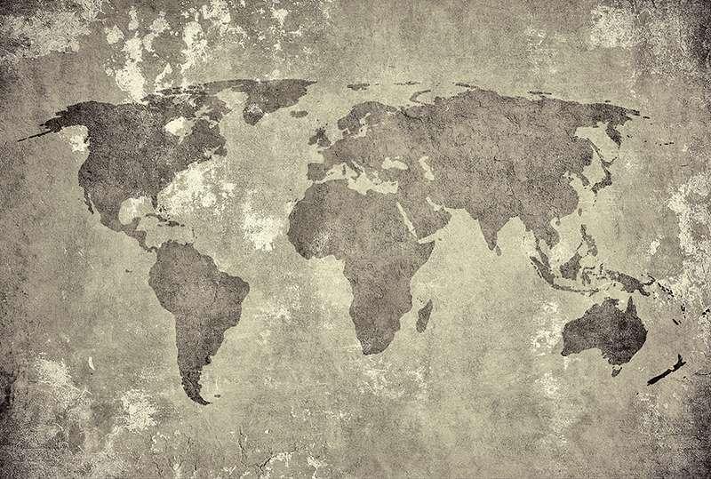 Carta da parati Wall world