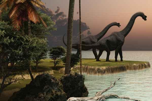 Carta da parati Dinosauri