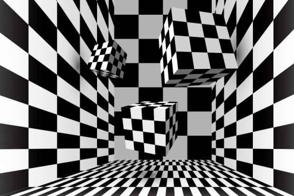 Carta da parati Cubi trid