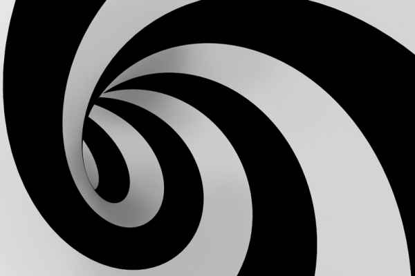 Carta da parati Spirale Bassa