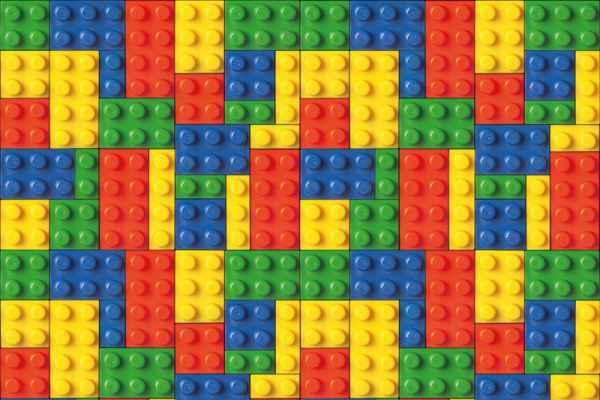 Carta da parati Costruzioni Lego