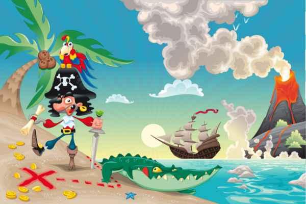 Carta da parati Il Pirata