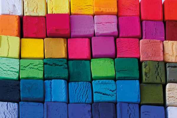 Carta da parati Pastelli Colorati