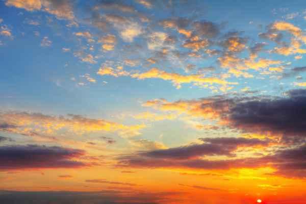 Carta da parati Cielo al Tramonto