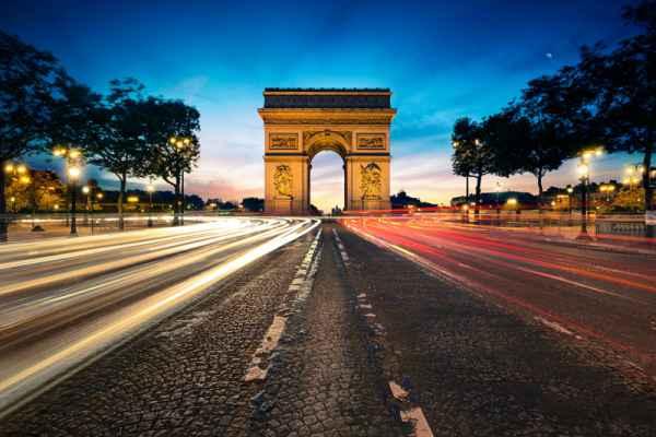 Carta da parati Parigi, Arco di Trionfo