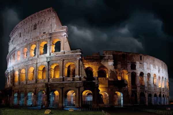 Carta da parati Roma, Colosseo