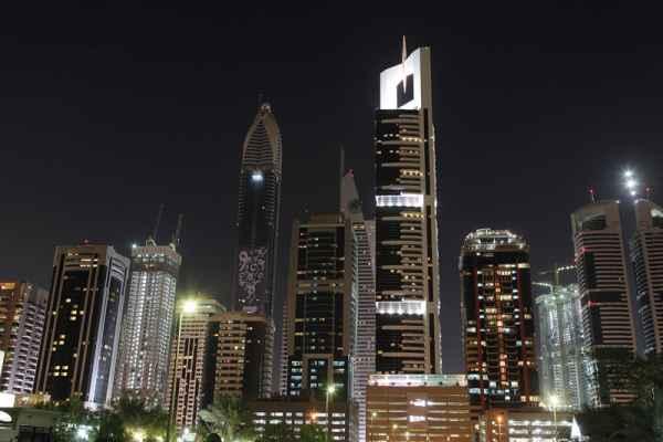 Carta da parati Dubai Skyline