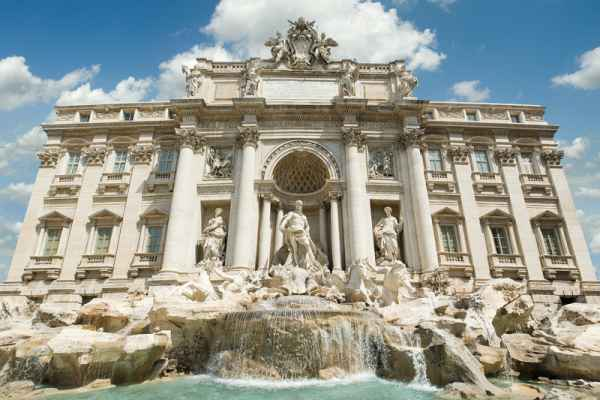 Carta da parati Roma, Fontana di Trevi