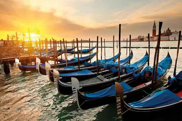 Carta da parati Venezia, Gondole