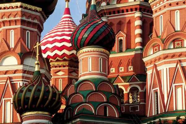 Carta da parati Mosca Cattedrale