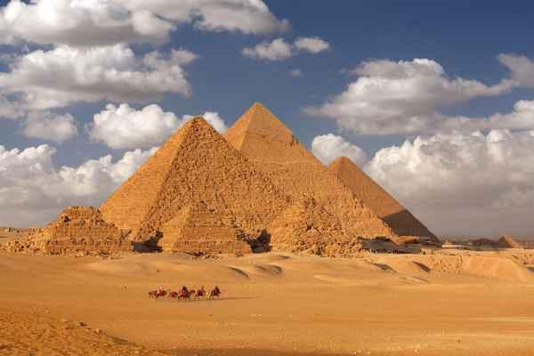 Carta da parati Il Cairo, Piramidi