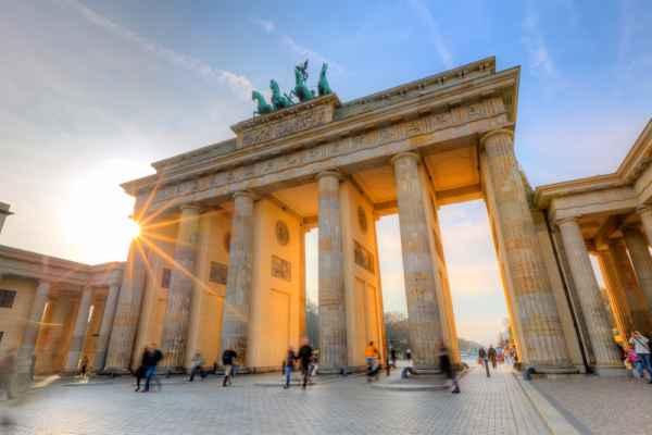 Carta da parati Berlino, Porta di Brandeburgo