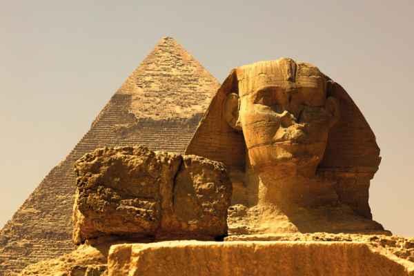 Carta da parati Il Cairo, Sfinge