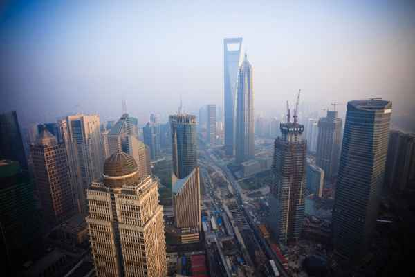Carta da parati Shanghai Panorama