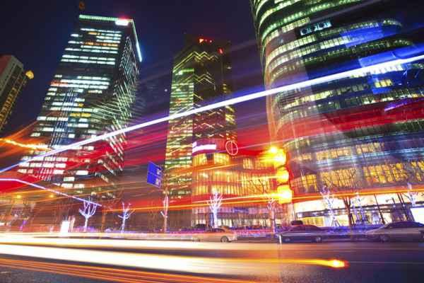 Carta da parati Shanghai Viabilità