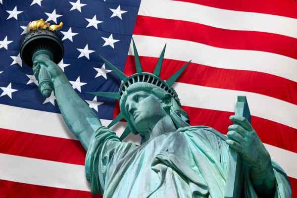 Carta da parati New York, Statua della Libertà 1