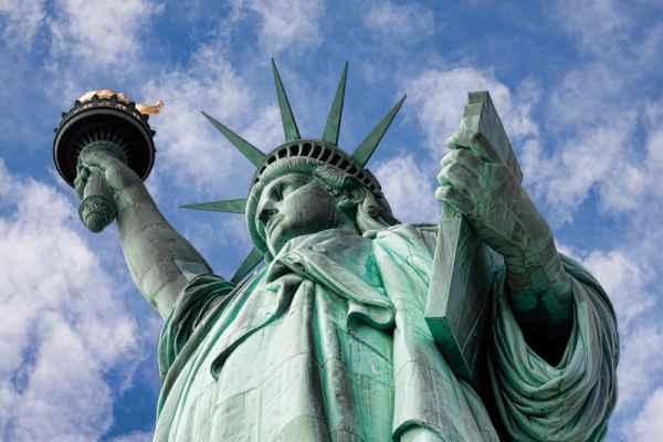Carta da parati New York, Statua della Libertà