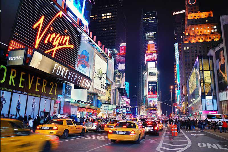Carta da parati New York, Time Square 2