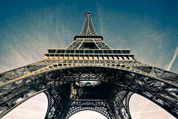 Carta da parati Parigi, Torre Eiffel 3
