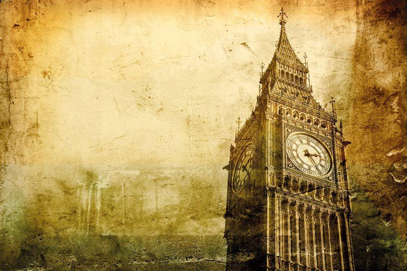Carta da parati Vecchia Londra