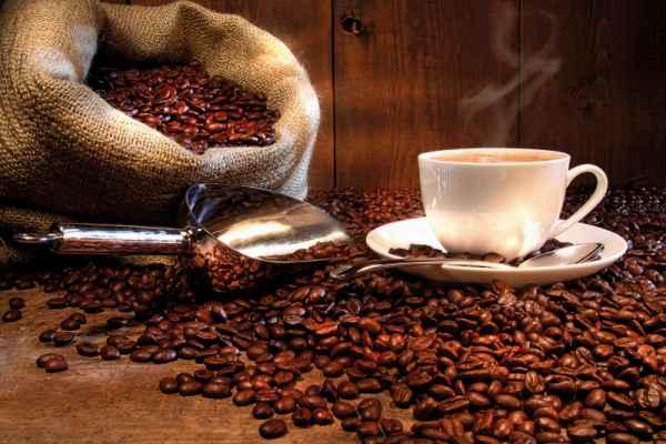 Carta da parati Caffè Tazzina