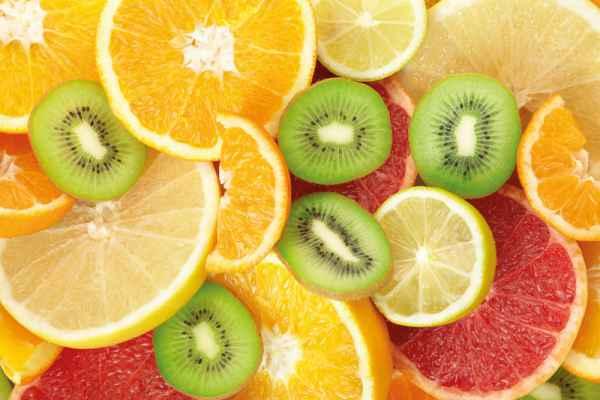 Carta da parati Frutta Tagliata