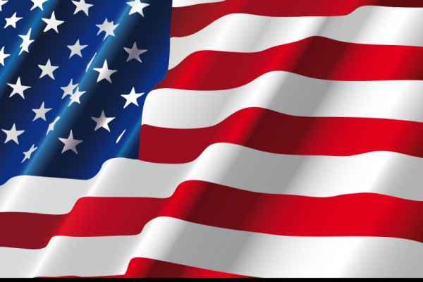 Carta da parati Bandiera Americana