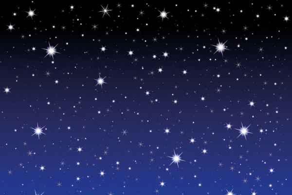 Carta da parati Cielo Stellato