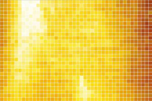 Carta da parati Mosaico Oro