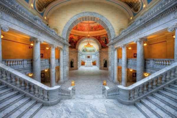 Carta da parati Casa dello Stato di Utah