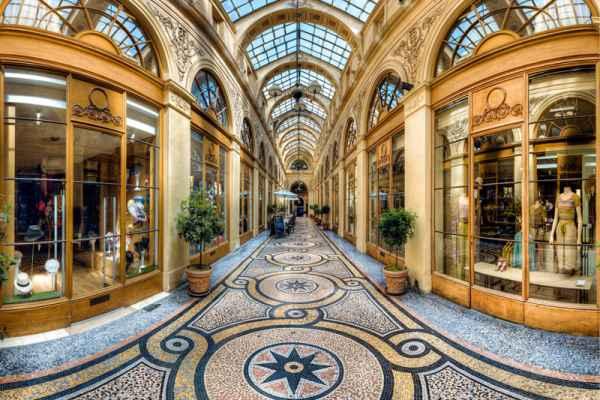 Carta da parati Galleria Viennese