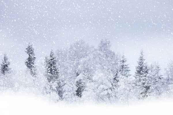 Carta da parati Nevicata