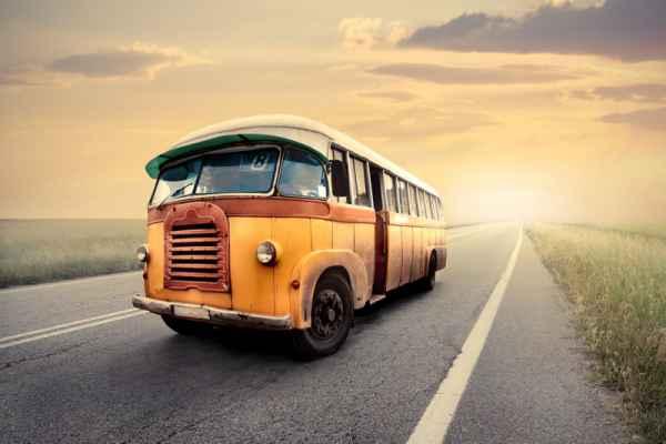 Carta da parati Bus vintage