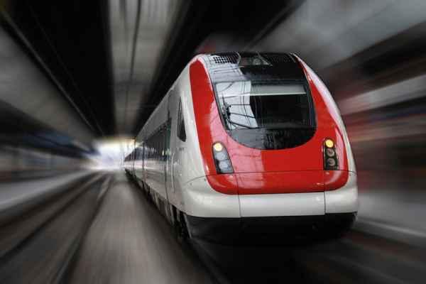 Carta da parati Treno Velocità