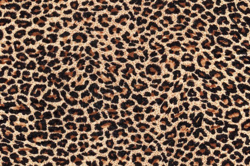 Carta da parati stoffa leopardata personalizzazione for Stoffa da parati