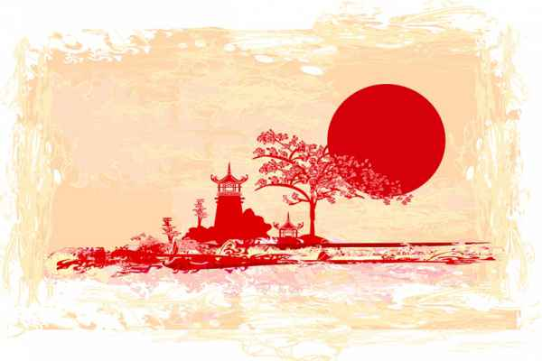 Carta da parati pittorico della collezione style for Carta da parati cinese