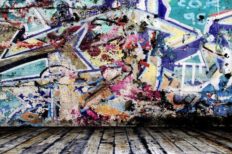 Carta da parati Graffity wall