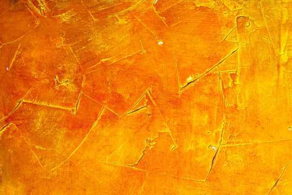 Carta da parati Spatolato arancio