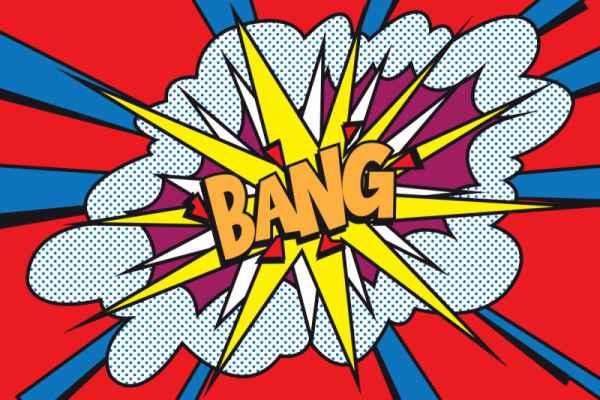 Carta da parati Bang
