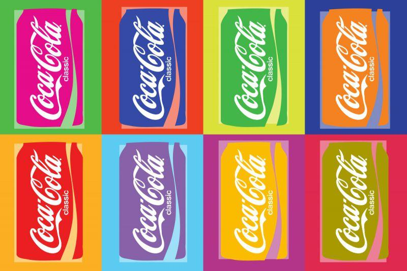 Carta da parati Coca Cola